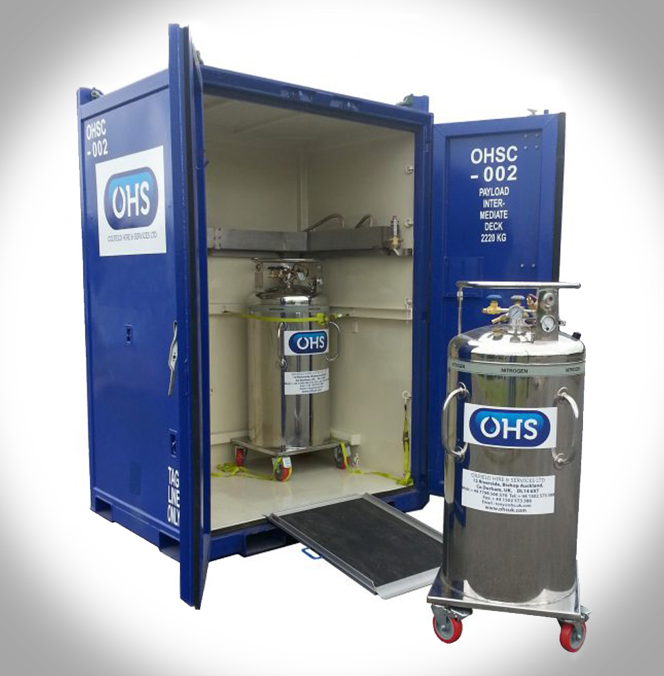 Pipe Freezing Dewar Kits Ohs